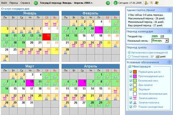 Месячные Календарь Дни Овуляции